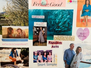 Vision board workshop January 2020